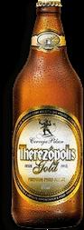Cerveja Therezópolis Gold Pilsen
