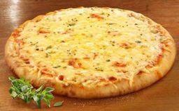 Pizza De Três Queijos