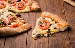 Pizza Broto Salgada Dois Sabores