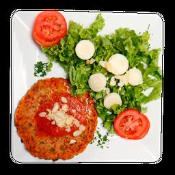 Omelete com Salada House