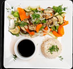 Grelhados Veggie + Salada