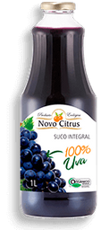 Suco Integral de Uva Novo Citrus  300ml