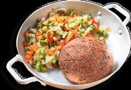 Kibe Assado Mais Salada Alepo