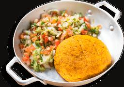 Kibe Vegetariano Mais Salada Alepo