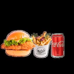 Monte Burger + Fritas + Refrigerante