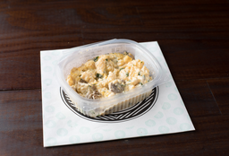 Ovos Mexidos com Espinafre, Cogumelos e Cream Cheese