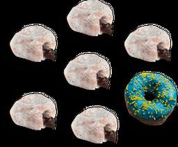 Combo 6 Donuts.
