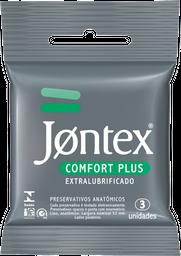 Preservativo Jontex Comfort Plus 3 U
