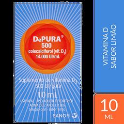 Depura 500Ui Com 10Ml