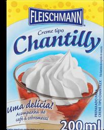 Creme Fleischmann  Tipo Chantilly 200 Ml