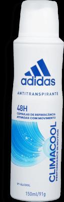 Desodorante Aerosol Adidas Climacool Feminino