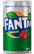 Refrigerante Fanta Guaraná Zero 350 mL