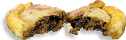 Empanada Carne Com Uva Passa