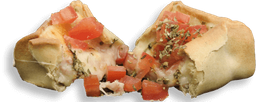 Empanada Presunto, Queijo e Tomate