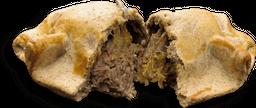Empanada Integral Abóbora Com Carne Seca