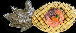 Tataki De Atum e Salmão