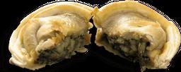 Empanada de Espinafre com Molho Branco