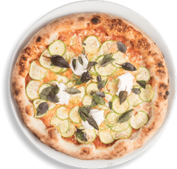 Pizza Zucchini Individual