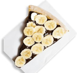 Pedaço De Chocolate Com Banana