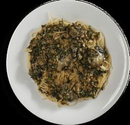Spaghetti com Ostras