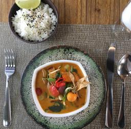 Curry + Refrigerante