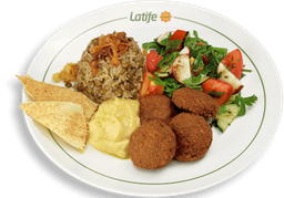 Combinado Árabe Vegano e Vegetariano