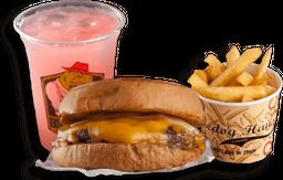 Classic Burger + Baby Fries + Bebida