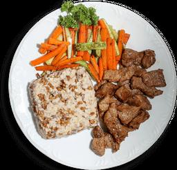 Prato Fitness com Carne