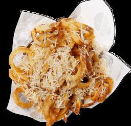 Batata Curly com Azeite