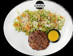 Salada com Burger 160g