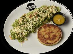 Salada com Burger Veggie 160g