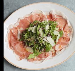 Salada de Prosciutto e Pera