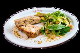 Terrine Campagne com Pistache e Foie Gras