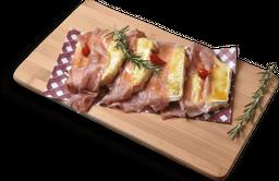 Bruschetta de Brie e Parma