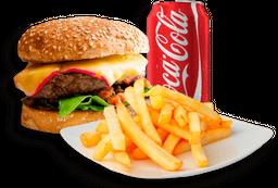 Burger Imperial + Fritas + Refri