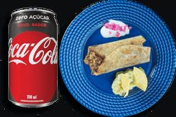 Combo seu madruga + Coca-Cola Zero grátis
