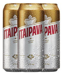3 x Cerveja Itaipava Lata 473 mL