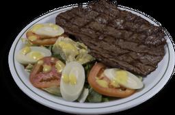 Paillard com Salada