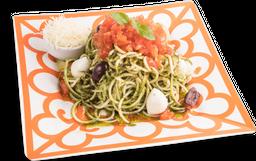 Espaguete de Abobrinha Caprese