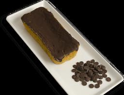 Bolo de Cenoura Funcional com Chocolate Meio Amargo