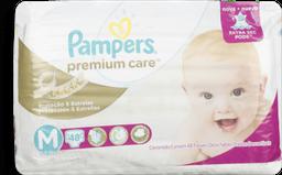 Fralda Pampers Premium Care Mega M Com 48 U