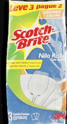 Esponja Não Risca Azul Scotch Brite 2 Unidades