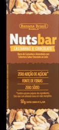 Barra De Frutas NutsBar Castanhas E Chocolate 50g