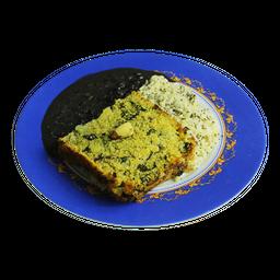 Kibe De Quinoa Com Batata E Espinafre