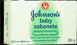 Sabonete Johnson & Johnson Baby Toque Fresquinho 80g