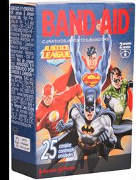 Curativo Band Aid Decorado Liga Da Justiça Com 25 Und