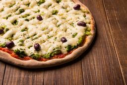 Pizza Broto Brócolis E Catupiry