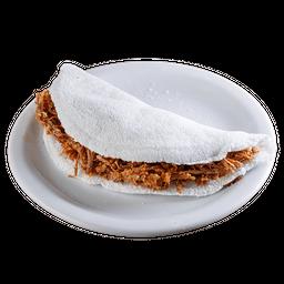 Tapioca Carne Seca com Q. Coalho