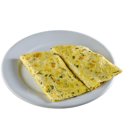 OmeleteTomate e Cebola