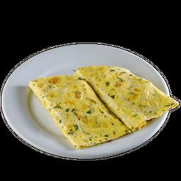 Omelete Peito de Peru com Q. Minas